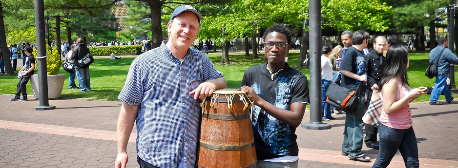 African Drumming: Robert Levin and the Drums of Ghana