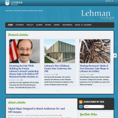 Check out the New Look and Features for 'Lehman Today'