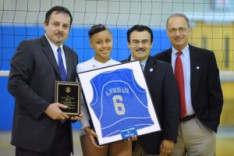 Lehman Senior Wins Volleyball Player of the Year
