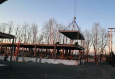New Modular Child Care Center Being Assembled Off-Site