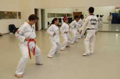Students Earn Tae Kwon Do Belts at Lehman