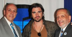 Latin Musician Juanes Meets Students at Celia Cruz Bronx HS of Music