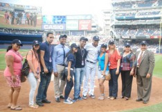 Lehman Students Honored at Yankee Stadium