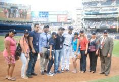 Lehman Students Honored at Yankee Stadium
