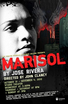 Theatre Program at Lehman College to Present 'Marisol' Oct. 31 – Nov. 4