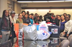 Lehman Organizes Hurricane Sandy Relief Efforts