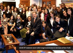 GEAR UP Students Tour U.S. Capitol