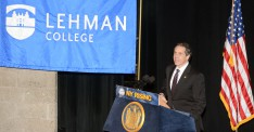 Governor Cuomo's 'New York Rising' Tour Stops by Lehman