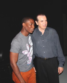 Actor Chazz Palminteri Brings His Bronx Tale to Lehman