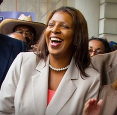 Alumna Letitia James Elected NYC Public Advocate, First African-American Woman to Hold Citywide Office