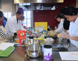 In State-of-the-art Kitchen Lab, Students Unlock the Art, Science, and Joy of Cooking