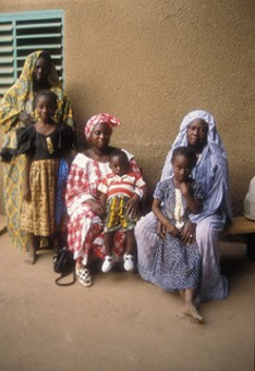 Three Families, Three Decades: Beryl Goldberg's Portraits from Burkino Faso, West Africa on Exhibit at Leonard Lief Library
