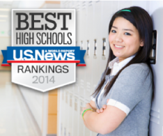 U.S. News & World Report: High School of American Studies at Lehman College Is Number One in NY State, #32 Nationwide
