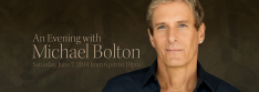 Enjoy an Evening with Michael Bolton and Support the Lehman Center for the Performing Arts