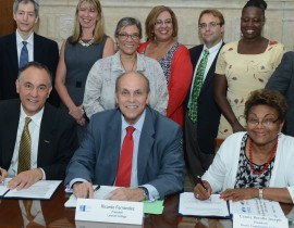 CUNY in the Bronx Make History With New Pact
