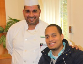 Student Receives Unexpected Gift from Lehman's Head Chef