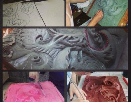 Art Major Finds Inner Peace, Success Through Sculpting
