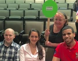 Lehman Students Take Third Place at ACSM Student Quiz Bowl