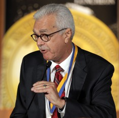 Lehman Professor Miguel Perez Inducted into the National Association of Hispanic Journalists' Hall of Fame