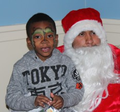 Lehman Throws Holiday Party for Kids Living in Transitional Housing