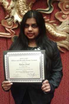 Lehman Sophomore Takes First Place in CUNY Essay Contest