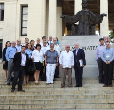 Lehman Provost and Latin American Professor are Part of Historic Delegation to Cuba