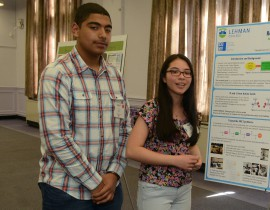 Two Students from the High School of American Studies at Lehman College Claim SciFest Crown
