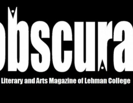 Obscura Literary Magazine to Launch Seventh Volume, May 4