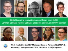 Faculty from Lehman College and City University of New York Win 2016 OLC Digital Learning Innovation Award