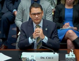President Cruz Presses for Greater Equity In Higher Ed at Congressional Hearing