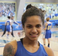 A Stellar Basketball Career for Lehman Lightning Star