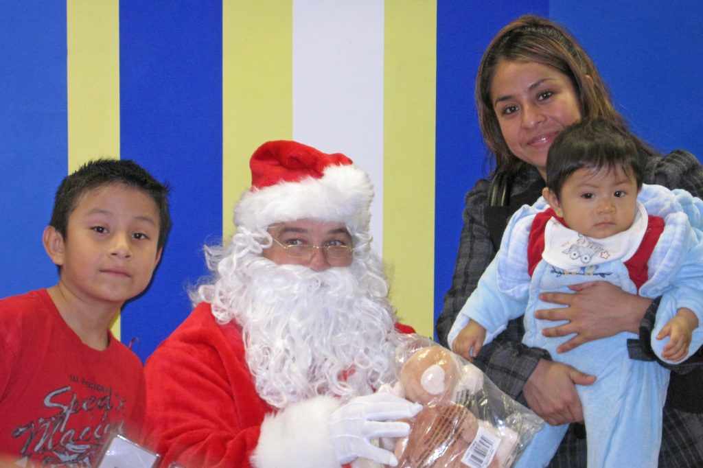 Toys for Tots with Santa