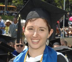 """Lehman alumna Leah Fredman ('12) is making academic news again—she was just awarded a National Science Foundation Graduate Research Fellowship to study """"identity fusion"""" in Israel."""