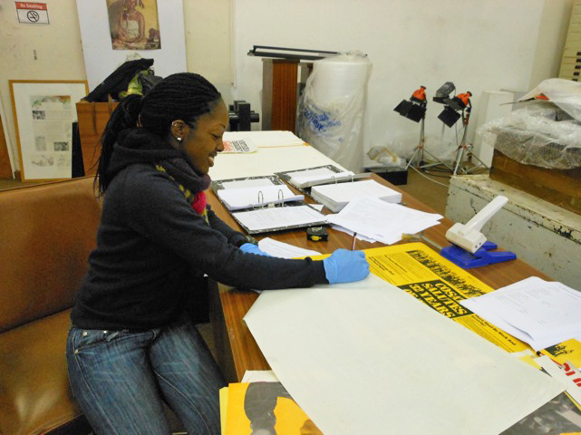 South Africa: Donya Locke at Mayibuye Archives