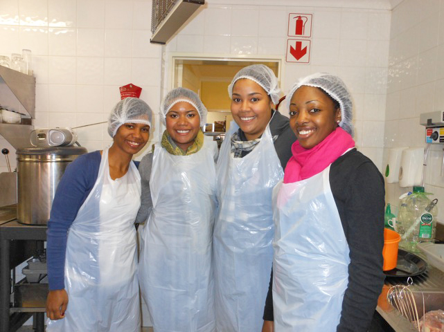 South Africa: Lehman Students at Nkosi's Haven