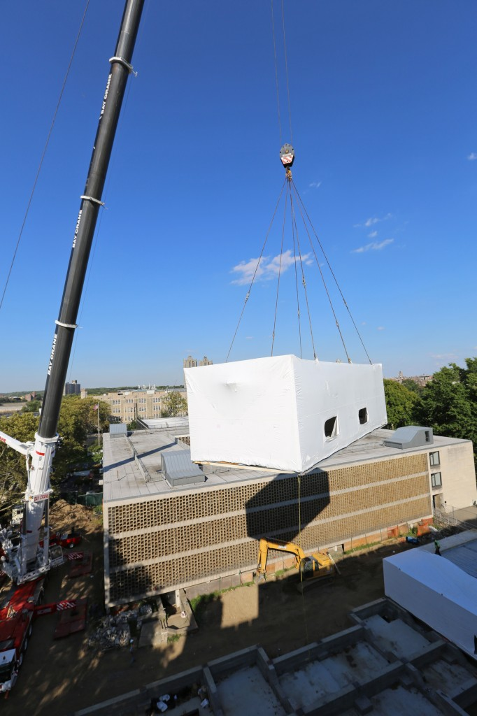 Crane Lift Parts to Child Care Center
