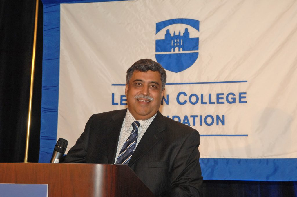 Honoree Anil Nayyar, president of Nayyarsons Corporation.