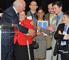 Four students from Lehman College's Student Disability Program have been selected to receive the Matthew Goldstein Scholarship, which provides financial aid to students with disabilities for one year. Melissa Prieto, Mike Ramon, Jason Idelson, and Cynthia Carire were each selected for their strong academic record and persistence in overcoming obstacles. A senior majoring in psychology, [...]