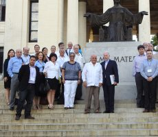 Lehman Provost Dr. Anny Morrobel-Sosa and Professor Teresita Levy were part of a historic delegation that recently travelled to Cuba.