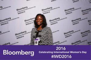Lehman College Grad Student invited to 2016 Bloomberg International Women's Day Summit