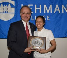 The Lehman College Department of Athletics handed out ten major awards to its student-athletes.