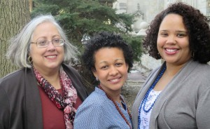Founding members (l-r) Norma Cofresi, Lucinda Bratini and Dugeidy Ortiz